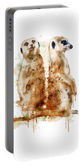 Meerkats Portable Battery Charger by Marian Voicu