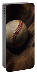 Meet Me At The Sandlot Portable Battery Charger by Heather Applegate