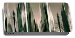 Metropolis Triptych Portable Battery Charger by Jessica Jenney