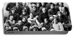 Michigan Wolverines Football Heritage  1895 Portable Battery Charger by Daniel Hagerman