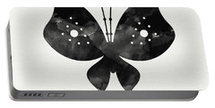 Midnight Butterfly 2- Art By Linda Woods Portable Battery Charger by Linda Woods