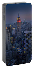 Midtown Freedom Portable Battery Charger by Rick Berk