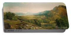 Minding The Flock Portable Battery Charger by Thomas Moran