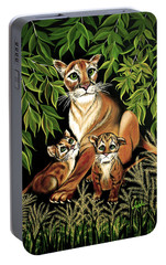 Momma's Pride And Joy Portable Battery Charger by Adele Moscaritolo