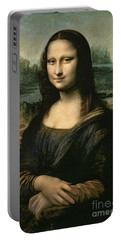 Mona Lisa Portable Battery Charger by Leonardo da Vinci