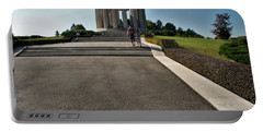Portable Battery Charger featuring the photograph Montsec American Monument by Travel Pics