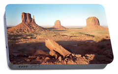 Portable Battery Charger featuring the photograph Monument Valley, Utah by A Gurmankin