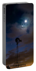 Morning Stars Portable Battery Charger by Bill Wakeley