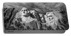 Mount Rushmore II Portable Battery Charger by Tom Mc Nemar
