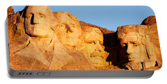 Mount Rushmore Portable Battery Charger by Todd Klassy