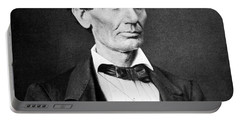 Mr. Lincoln Portable Battery Charger by War Is Hell Store