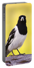 Mr. Magpie Portable Battery Charger by Jorgo Photography - Wall Art Gallery