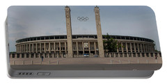 Berlin Olympic Stadium Portable Battery Charger by Stephen Smith
