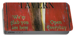 Murphy's Tavern Portable Battery Charger by Debbie DeWitt