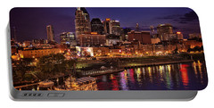 Nashville And The Belle Carol Portable Battery Charger by Diana Powell