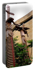 National Museum Of The American Indian 3 Portable Battery Charger by Randall Weidner