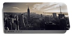 New York Portable Battery Charger by Dave Bowman