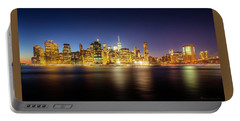 New York Skyline Portable Battery Charger by Marvin Spates