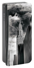 New York State Of Mind Portable Battery Charger by Jessica Jenney