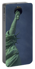 Portable Battery Charger featuring the photograph New York by Travel Pics