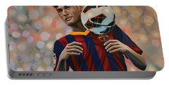 Neymar Portable Battery Charger by Paul Meijering