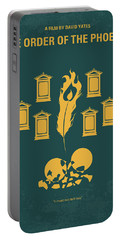 No101-5 My Hp - Order Of The Phoenix Minimal Movie Poster Portable Battery Charger by Chungkong Art
