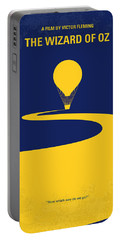 No177 My Wizard Of Oz Minimal Movie Poster Portable Battery Charger by Chungkong Art