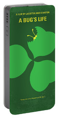 No401 My A Bugs Life Minimal Movie Poster Portable Battery Charger by Chungkong Art