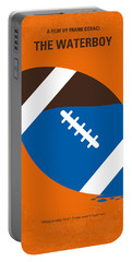 No580 My The Waterboy Minimal Movie Poster Portable Battery Charger by Chungkong Art