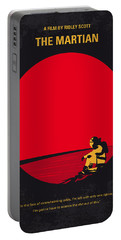 No620 My The Martian Minimal Movie Poster Portable Battery Charger by Chungkong Art