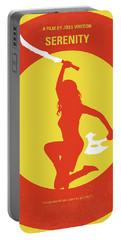 No722 My Serenity Minimal Movie Poster Portable Battery Charger by Chungkong Art