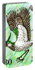 Northern Lapwing  Portable Battery Charger by Lanjee Chee