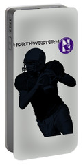 Northwestern Football Portable Battery Charger by David Dehner