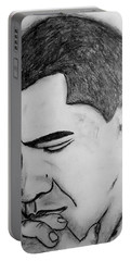 Obama 2 Portable Battery Charger by Collin A Clarke