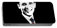 Obama Portable Battery Charger by War Is Hell Store