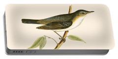 Olive Tree Warbler Portable Battery Charger by English School