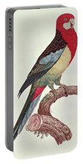 Omnicolored Parakeet Portable Battery Charger by Jacques Barraband