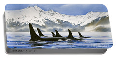 Orca Portable Battery Charger by James Williamson