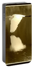 Over Golden Pond Portable Battery Charger by Carol Groenen