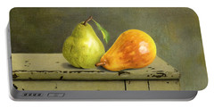Pair Of Pears Portable Battery Charger by Sarah Batalka