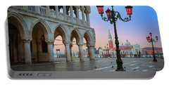Palazzo Ducale Portable Battery Charger by Inge Johnsson