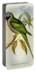Parakeet Portable Battery Charger by John Gould