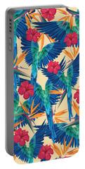 Parrots Portable Battery Charger by Marta Balcerzak