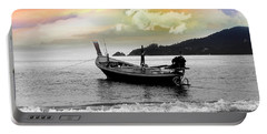 Patong Beach Portable Battery Charger by Mark Ashkenazi