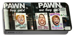 Pawn Shop Humor Portable Battery Charger by Allen Beatty
