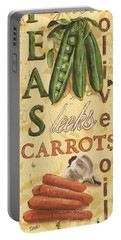 Pea Soup Portable Battery Charger by Debbie DeWitt