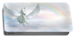 Pegasus Portable Battery Charger by John Edwards