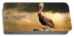 Pelican After A Storm Portable Battery Charger by Mal Bray