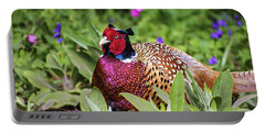 Pheasant Portable Battery Charger by Martin Newman