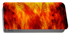 Phoenix Rising Portable Battery Charger by Andrew Paranavitana